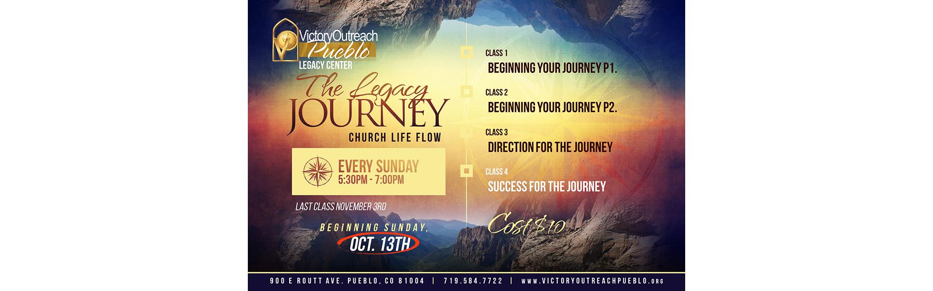 Legacy Journey Oct 13-Nov 3
