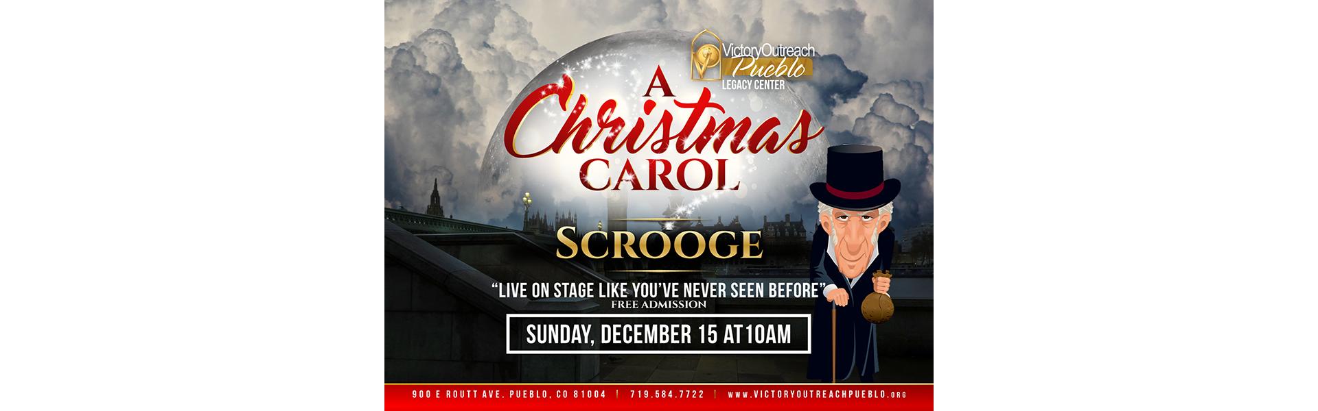A Christmas Carol – Dec 15