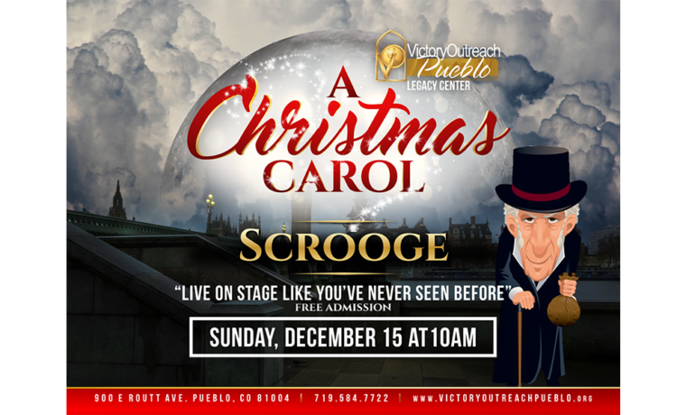 A Christmas Carol On Stage – Dec 15th