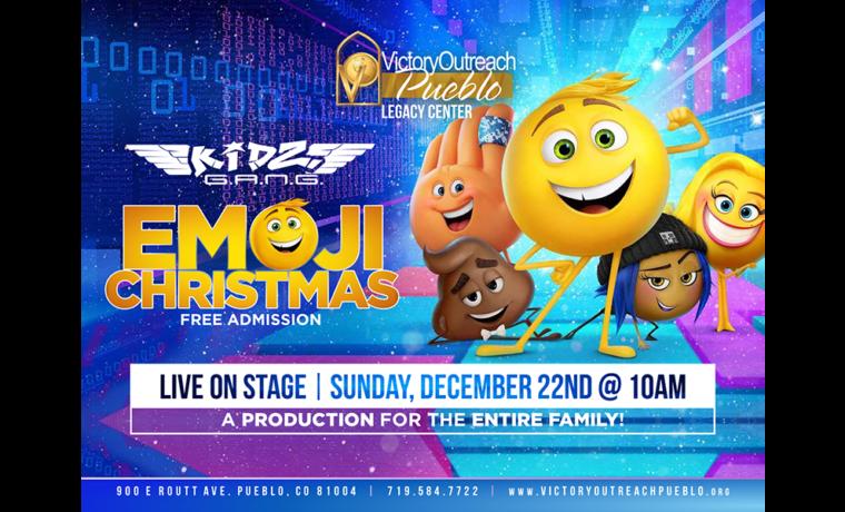 Emoji Christmas Live on Stage – Dec 22nd