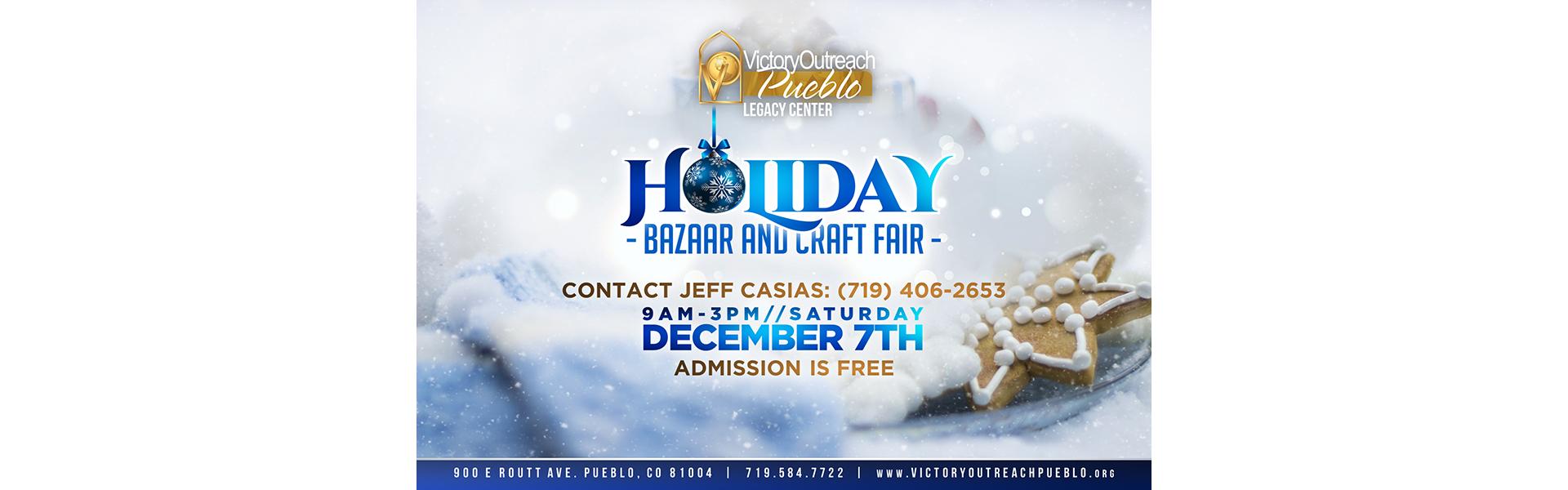 Holiday Bizaare and Craft Fair – Dec 7
