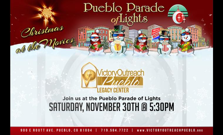 Pueblo Parade of Lights – Nov 30th