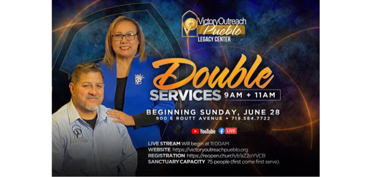 Reserve Your Seat to Attend Services